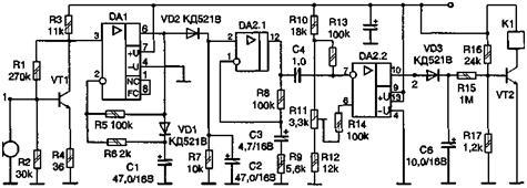 Рис. 4.37, Принципиальная схема приемника.